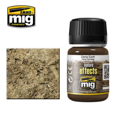 Ammo Mig Jimenez DAMP EARTH effects enamel 35mL - AMIG1406