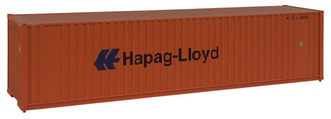 Walthers Scene Master 949-8204 HO Scale 40' Hi-Cube Container - Hapag-Lloyd