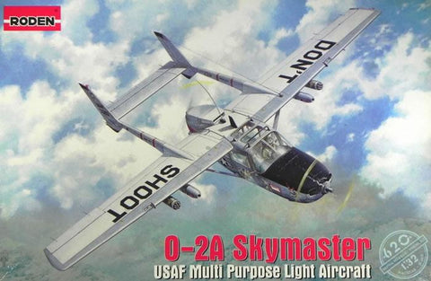 Roden Model kit 1/32 0-2A Skymaster USAF Multi Purpose Light Aircraft - 620