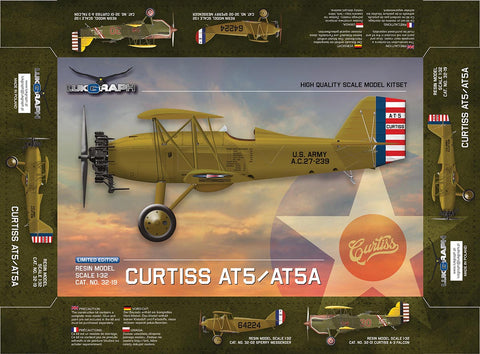 Lukgraph 1/32 scale Curtiss AT5/ATA aircraft resin kit 32-19