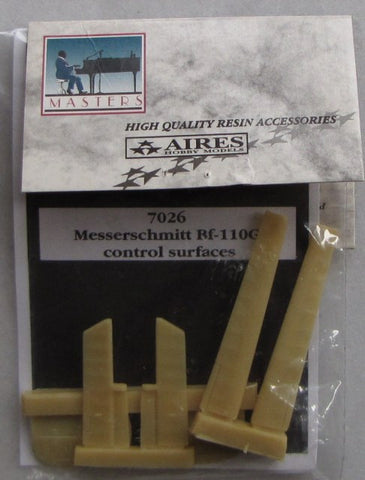Aires 1/72 scale Messerschmitt Bf 110G control surfaces for Italeri #7026