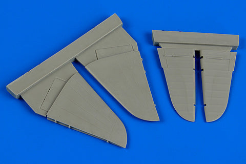 Aires 1/72 resin IL-2 Shturmovik control surfaces for Tamiya - 7313