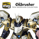 AMMO of Mig Jimenez METALLIC Oilbrushers Vol 2 for detail painting and touch ups