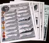 Furball 1/48 decal Lo Viz Devil Dog Scooters for Hasegawa / Monogram