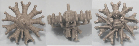 1/48 Vector Resin BMW-132 Engine #48011