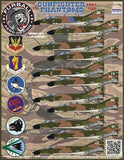 Furball decals 1/48 F-4C/D Gunfighter Phantom Pt 2 for Academy - FUR48030