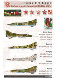 Linden Hill 1/48 decal LHD48028 Brothers in Arms 1 Mikoyan MiG-23M/MF Trumpeter