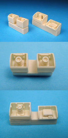 1/48 BarracudaCast resin BR48028 Spitfire Camera Bay Inserts
