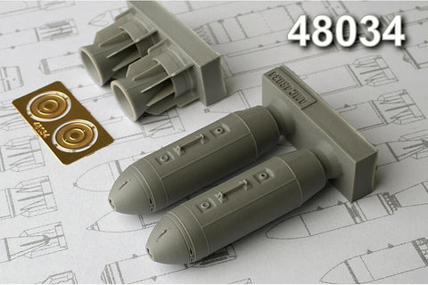 Advanced Modeling 1/48 resin ODAB-500PM Air-Fuel Explosive Bomb - AMC48034
