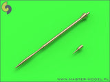 Master Model 1/48 IAI Kfir Pitot Tubes & AOA probe - AM48077