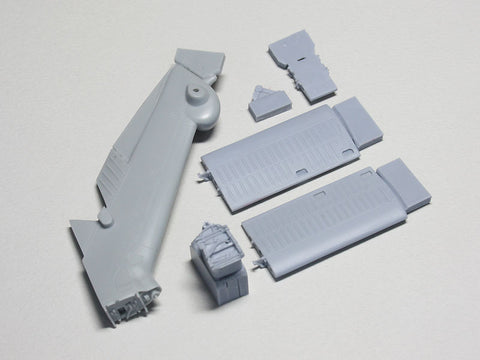 Wolfpack 1/48 SH-60/HH-60 Seahawk Tail Folding set for Italeri  WP48125