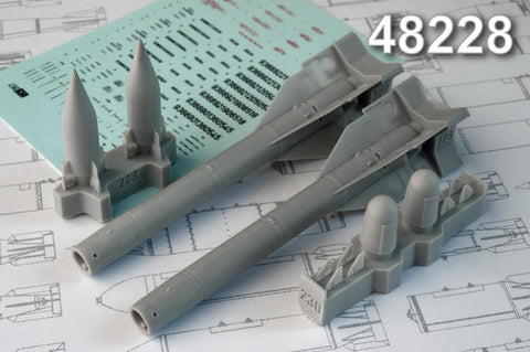 Advanced Modeling 1/48 Kh­25MP Anti­radar missile AS­12 Kegler - AMC48228