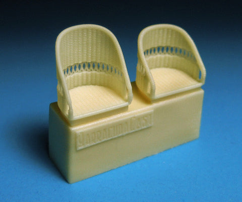 1/48 BarracudaCast BR48260 British WWI Wicker AGS Seats - No Belts