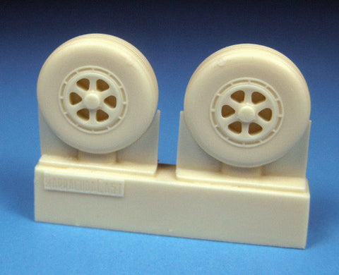 1/48 BarracudaCast BR48279 Grumman Tracker Early Mainwheels for Kinetic