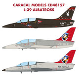 Caracal Models 1/48 scale decals CD48157 L-39 Albatros for Trumpeter