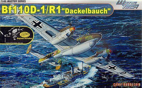 CyberHobby by Dragon 1/48 Messerschmitt Bf110D1:R1 Dackelbauch - 5556 2nd  Hand