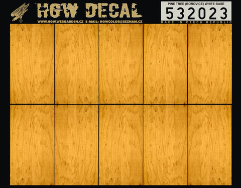 HGW 1/32 Pine Tree (white base) decals Wingnut Wings - 532023