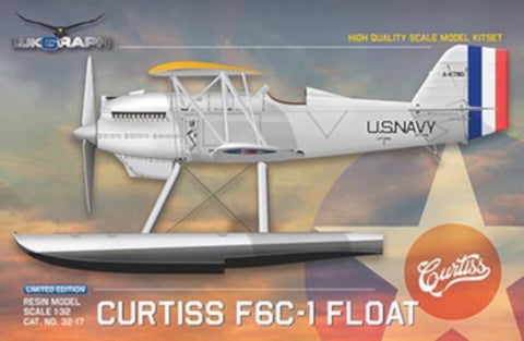 Lukgraph 1/32 scale Curtiss F6C-1 FLOAT aircraft resin kit 32-17