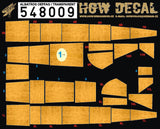 HGW 1/48 wood decals for Albatros OEFFAG transparent #548009