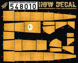 HGW 1/48 wood decals for Albatros OEFFAG in base white #548010