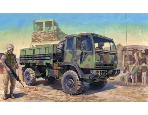 TRUMPETER 1/35 scale M1078 Light Medium Tactical Vehicle ( LMTV) - kit #01004