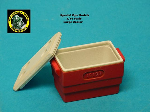 Special Ops 1/16 Modern Equipment Miniature resin Large Cooler (x 1) - OPS16004