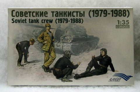 Alanger Models 1/35 Figures Soviet Tank Crew (1979-1988)- 035200 - from collection