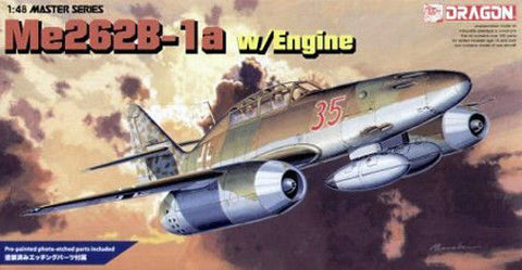 Dragon Model kit 1/48 Special Edition Me 262B-1a w/Engine - 5512