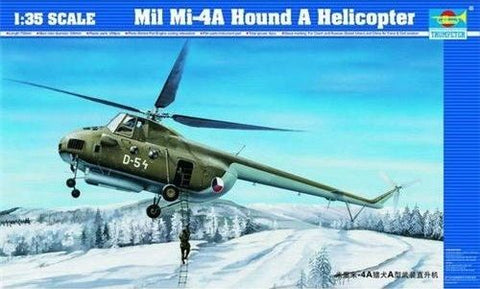 Trumpeter 1:35 Mil Mi-4A Hound A - Kit#05101 - from collection