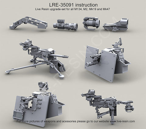 Live Resin 1:35 Heavy Weapon Accessories - LRE35091