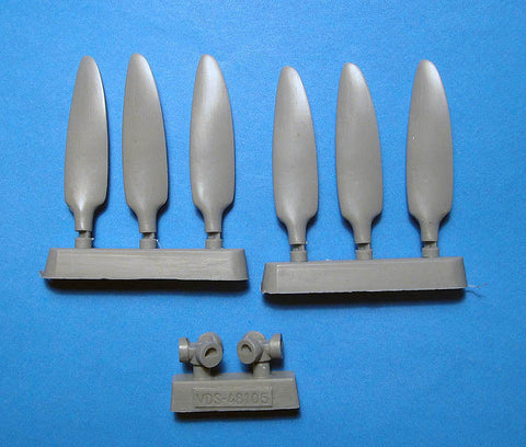 1/48 Vector Junkers Ju 88A-4/A-14 Corrected Propellers for ICM kit - VDS48105