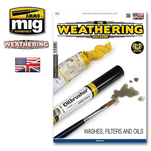 AMMO of Mig THE WEATHERING MAGAZINE # 17 WASHES, FILTERS AND OILS