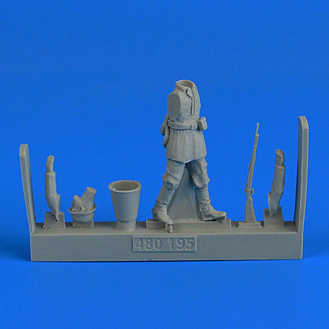 Aerobonus Resin 1/48 by Aires WWII German Infantry - 480195 - Walking