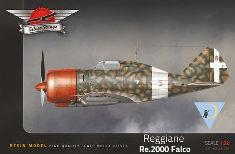 Silver Wings 1/32 resin model kit of the Reggiane Re.2000 Falco - MPN 32-019