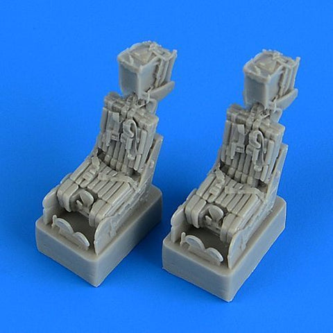 Quickboost by Aries 1/72 F-14A Tomcat ejection seats w/belts for Fujimi QB72556