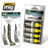 Acrylic Paint Set: Argentina Colors Vol 1 Falklands A.MIG 7206 Ammo Mig Jimenez