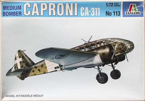 Italeri 1/72 Medium Bomber Caproni Ca-311 - Kit#113 - FROM COLLECTION