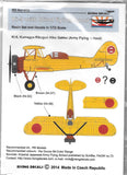 Rising Decals + Resin 1/72 Ki-9 with Blind Flying Hood  - Acr-012 for RS Models