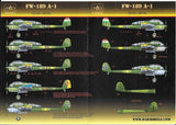 HAD Models decals 1/72 FW-189 A-1 - #72133