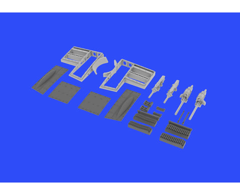 Eduard 1/48 Brassin resin gun bays for Spitfire Mk.IXe for Eduard kit - 648334