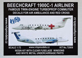 RVHP Models 1/72 Resin kit Beechcraft 1900C-1 Airliner - 72009