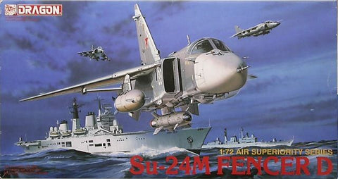 Dragon Model Kit 1:72 Sukhoi Su-24M Fencer-D - 2502 - from collection