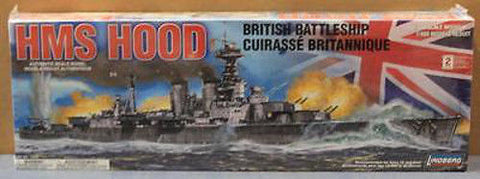 Lindberg Models 1:400 HMS Hood British Battleship Boot Kit - 70895 from collection