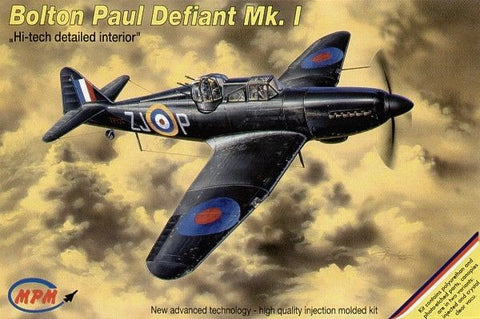 MPM Model Kit 1/72 Bolton Paul Defiant Mk.I Hi-tech detailed interior - #72530