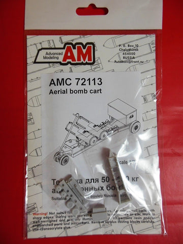 Advanced Modeling 1/72 Aerial bombs transport cart for Russian aircraft AMC72113