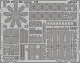 Eduard 1/48 photoetch exterior detail for Walrus Mk. I kit by Airfix - 48929