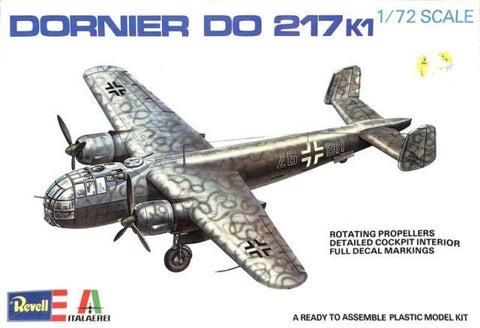 Revell 1/72 Dornier Do 217 K1 - Kit H2020 - Please read description!