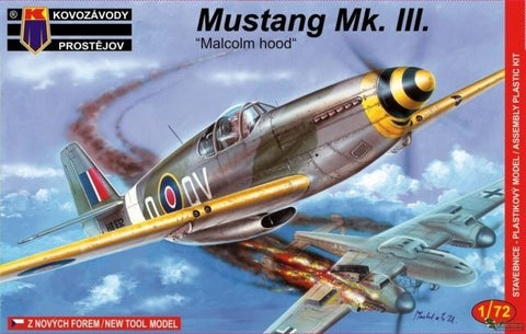 KOVOZAVODY PROSTEJOV 1/72 Mustang Mk.III Malcolm hood -KPM0032 from collection