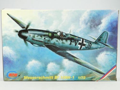 MPM Model kit 1/72 Messerschmitt Bf 109H-1 - 72069 from collection