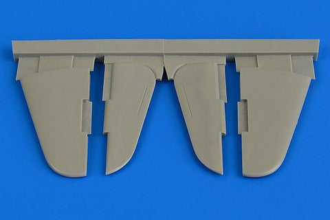Aires 1/48 Resin Yak-3 control surfaces for Eduard kit - 4729